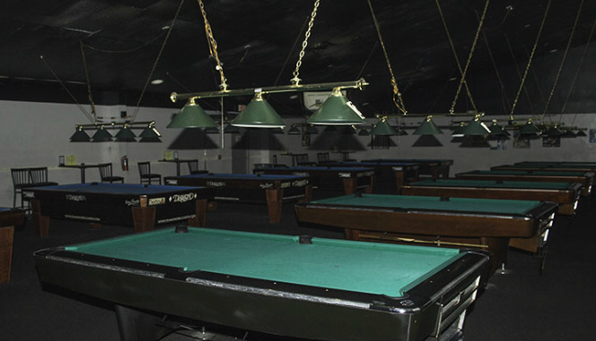 Park Avenue Billiards Welcome - Ballard pool table